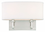Hudson Valley 592 Grayson 2 Lamp 13 Inch Wide Transitional Single Shade Wall Sconce Lighting