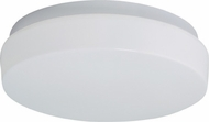 Lite Source LS5414WHT Bridgit Small 11  1-lamp Modern Flush Mount Ceiling Light