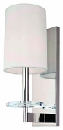 Hudson Valley 8801 Chelsea 14 Inch Tall Nickel Or Bronze Wall Light Sconce