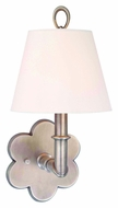 Hudson Valley 921 Pomona Flower Backplate 13 Inch Tall Transitional Wall Sconce Light