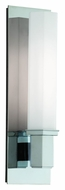 Hudson Valley 320-PC Walton Polished Chrome 15 Inch Tall Contemporary Sconce Lighting