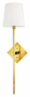 Hudson Valley 211-AGB Cortland Aged Brass 25 Inch Tall Transitional Lighting Sconce