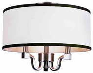 Trans Globe 7970 Modern Meets Traditional 3-light Flush Mount Ceiling Fixture