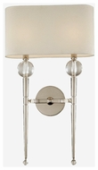 Hudson Valley 8422PN Rockland 2-Lamp Contemporary Wall Sconce