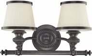 Hudson Valley 2002 Milton 2 Light Bathroom Fixture