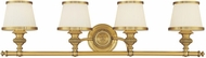 Hudson Valley 2004 Milton 4 Light Bathroom Fixture