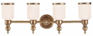 Hudson Valley 6304 Chatham 4 Light 28.75 Inch Wall Sconce