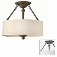 Hinkley 4791 Sussex Semi-Flush Ceiling Fixture