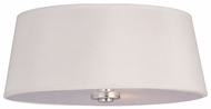 Maxim 12751WTPN Rondo 3-light White Flush Mount Lighting