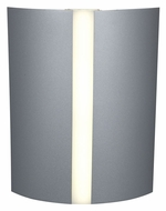 Access 70025LED-SAT Sail Satin Finish LED Wall Sconce Light - 10 Inches Tall