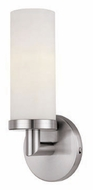 Access 20441-BS Aqueous 12 Inch Tall Transitional Wall Sconce Lighting Fixture