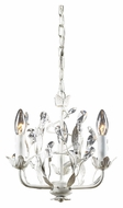 ELK 18112/3 Circeo Rustic White 3 Candle Mini Chandelier Light