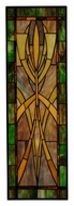 Meyda Tiffany 112249 Glasgow Goblet 26 Inch Tall Stained Glass Window