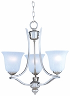 Maxim 10174ICSS Madera Mini 3 Light Chandelier in Satin Silver