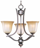 Maxim 10174WSOI Madera 3-lamp Mini Oil-Rubbed Bronze Chandelier