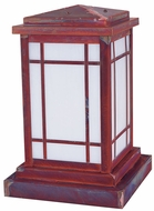 Arroyo Craftsman AVC-8L Avenue Craftsman Outdoor Pier Mount - 15.5 inches tall