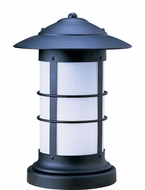Arroyo Craftsman NC-14L Newport Nautical Outdoor Pier Mount - 19.25 inches tall