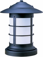 Arroyo Craftsman NC-19 Newport Nautical Outdoor Pier Mount - 23.625 inches tall