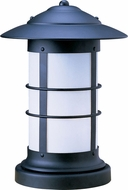 Arroyo Craftsman NC-19L Newport Nautical Outdoor Pier Mount - 26.5 inches tall