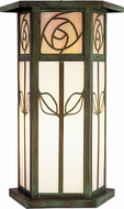 Arroyo Craftsman SCC-12 Saint Clair Craftsman Outdoor Column Mount - 12.75 inches tall