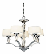 Kichler 42029CH Crystal Persuasion 5-light Mini Chandelier