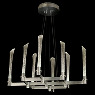 Fine Art Lamps 795140LD Catalyst 13-light Modern L.E.D. Chandelier with Downlights