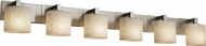 Justice Design CLD8926 Modular Clouds Contemporary Six-Light Bathroom Lighting