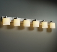 Justice Design CNDL8926 Modular Candlearia Contemporary Six-Light Bathroom Lighting