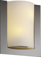 Justice Design FSN5562 Ada Framed Contemporary Fluorescent Rectangular Wall Sconce with Curved Light