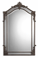 Uttermost 08045-B Alvita Traditional Aged Wood Tone 48 Inch Tall Mirror