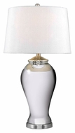 Kenroy Home 32082MG Raylene Modern 29 Inch Tall Mercury Glass Lamp