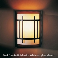 Hubbardton Forge 20-5710 Extended Cage Glass Wall Sconce