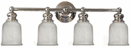 Hudson Valley 2304 Riverton 4 Light Bathroom Fixture