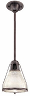 Hudson Valley 7308 Haverhill Industrial Pendant Light - 8 inches wide
