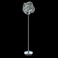 Elegant 2068FL15C-RC Tiffany Contemporary Crystal Floor Lamp
