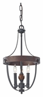Feiss F2795/3AF/CBA Alston Transitional 12 Inch Diameter Mini Lighting Chandelier