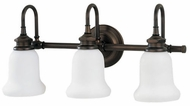 Hudson Valley 3803 Plymouth 3 Light Bathroom Fixture