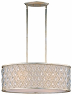 Maxim 21456OFGS Diamond 4-light Crystal Kitchen Island Light