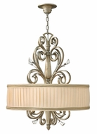 Fredrick Ramond 42644SLF Celeste Traditional Pendant Drum Lighting