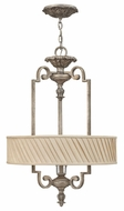 Fredrick Ramond 42724SLF Kingsley 3-lamp Drum Pendant Lighting