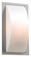 PLC 1742SL Breda Silver Outdoor Sconce With Fluorescent Option