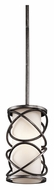 Kichler 42467WMZ Krasi Warm Bronze Contemporary 5 Inch Diameter Mini Hanging Light