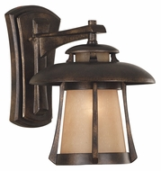 Kenroy Home 03195 Laguna Transitional Golden Bronze Finish Outdoor Lighting Sconce