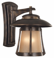 Kenroy Home 03196 Laguna 19 Inch Tall Golden Bronze Finish Exterior Wall Light Fixture