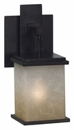 Kenroy Home 03372 Plateau Oil Rubbed Bronze Finish Outdoor Wall Sconce