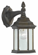 Kenroy Home 16266GBRZ Custom Fit Outdoor Golden Bronze Finish Wall Sconce Lantern