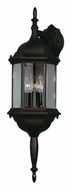 Kenroy Home 16267BL Custom Fit Exterior 8 Inch Wide 3 Lamp Wall Lantern