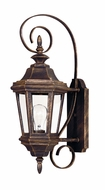 Kenroy Home 16312AP Estate Antique Patina Finish 22 Inch Tall Outdoor Wall Sconce - Small