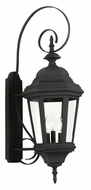 Kenroy Home 16314BL Estate Black Finish 31 Inch Tall Large Outdoor Wall Lamp