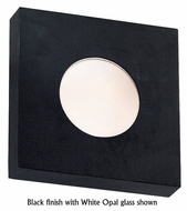 Kenroy Home 72825 Burst Small Square Contemporary Indoor/Outdoor Halogen Wall Sconce